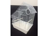 Small clean bird cage