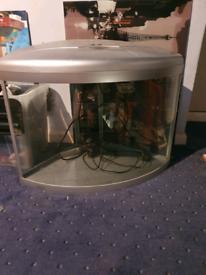Aqua one ufo 550 corner fishtank
