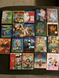 Disney Movies for Sale: Cinderella, Little Mermaid & much more.