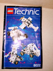 Lego Technic Starter Set #8022, 177 pieces, Ages 7-14