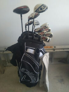 Golf Clubs & accessories (Left-handed) Hardly-used.