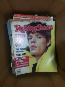 Rolling Stone mags.