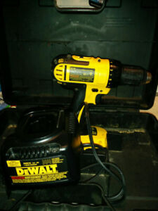 Drill perceuse, tournevis DeWalt 18v.