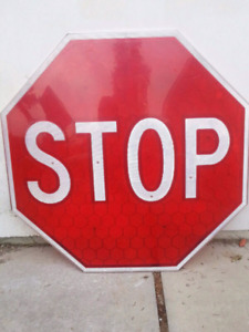 Stop sign!!