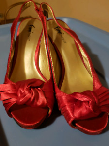 Red Fiona Night shoes