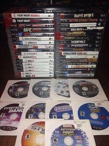 HUGE Lot! PlayStation 3 Games for SALE!