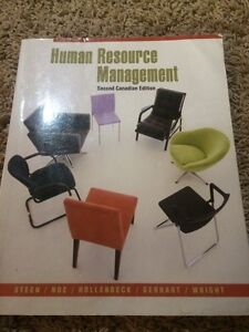 Human Resource Management -  2nd Canadian Edition Regina Regina Area image 1