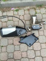Stock zx6 zx636 R RR exhaust, pipe, silencer
