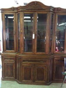 Large china cupboard