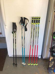 Kids/Junior ski race gear- LEKI, VOLKL, LANGE, NORDICA, ATOMIC