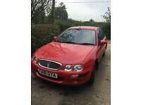 2001 Rover 25 car MOT till Apr 2017