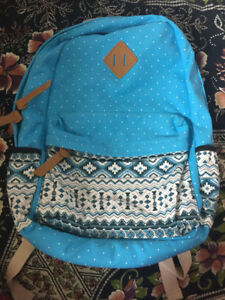 BRAND NEW TRIBAL PRINT CANVAS BACKPACK!!!