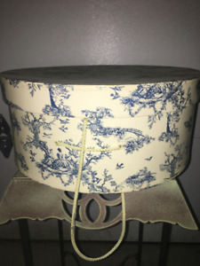 Decorative Box - Blue Toile