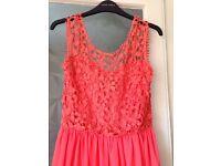 BRAND NEW Coral Maxi dress