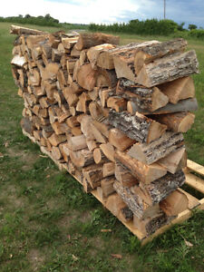 Seasoned Fire Wood - mixed hard wood & cedar kindling