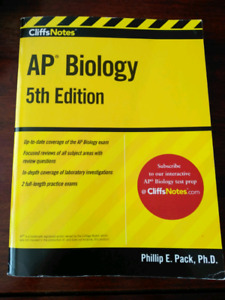 AP biology textbook
