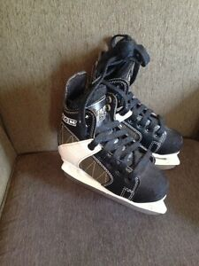 Size 12J CCM Intruder Hockey skates.