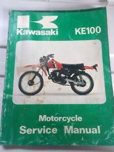 79 80 81 82 Kawasaki Factory KE100 Service Manual