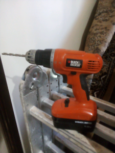Black and decker drill Christie Downs Morphett Vale Area Preview