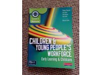 Children and young people's workforce text book