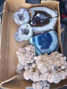 Book Ends Agate, decorative rock, crystals
