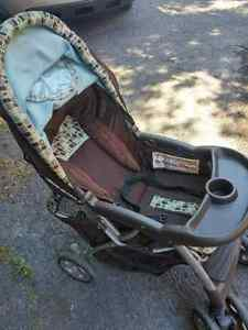 strollers and booster for car seat