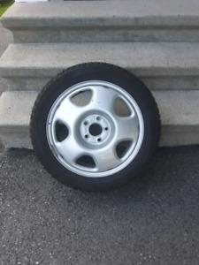 winter tires on rims Toyo G5 ice 215/50/17