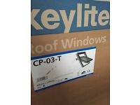 Keylite top hung 66 x118 roof window like Velux