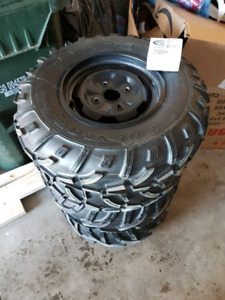King Quad 450 wheels and tires like new!!