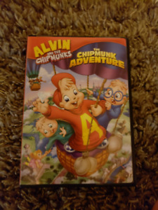 Alvin and The Chipmunks DVDs
