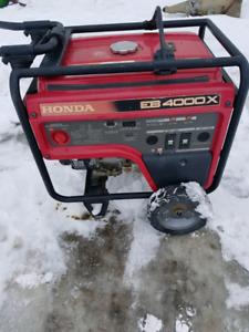 Honda EB 4000X generator