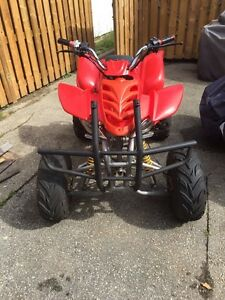 250cc 4 speed atv