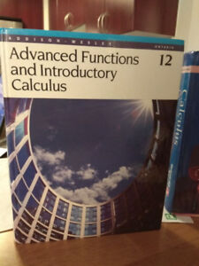 Grade 12 Textbook - Addision-Wesley Advanced Functions and Calc