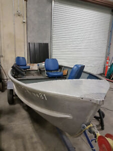 14' Aluminum fishing boat Princecraft