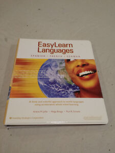 Easy Learn Languages French Spanish and German