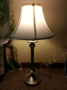 BRAND NEW LAMPSHADE - J.Harris - Steel base - Priced to Sell