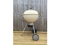 Cream Weber BBQ
