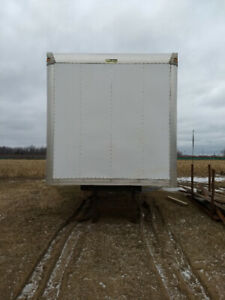 24' Truck Box For Sale With Tailgate!