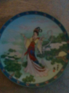 Beautiful  plates with stories