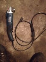 Bosch 5inch rat tail angle grinder
