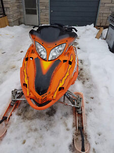 Sled has been tuned up and is ready to ride.