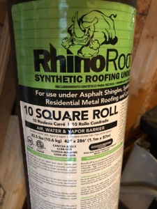 Rhino Synthetic Roofing Underlayment