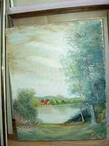 First House by artist Pauze    Painted July 2003