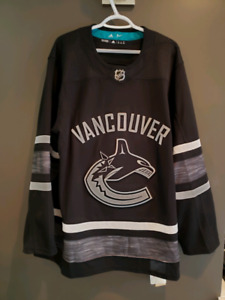 (Brand New) Canucks Parley Authentic Jersey BLACK