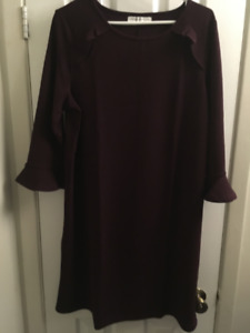 NEW SIGNATURE COLLECTION DRESS (Eggplant) Large