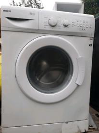 Beko white 1200 rpm washing machine