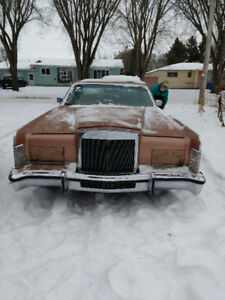 classic 78 lincoln town car