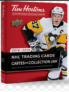 18/19 Tim hortons hockey cards