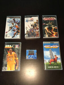 ASSORTMENT OF PSP GAMES