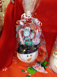 NEW Chocolate Filled Christmas Mugs/Gift Wrapped-2 for $17